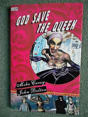 God Save the Queen by M. J. Carey (Hardback 2007) Mint Condition