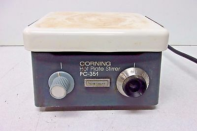 Corning Pc-351 Hot Plate Magnetic Stirrer, Very Good