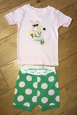 Baby Girls Gap Pyjamas Shorties Age 3-6 Months
