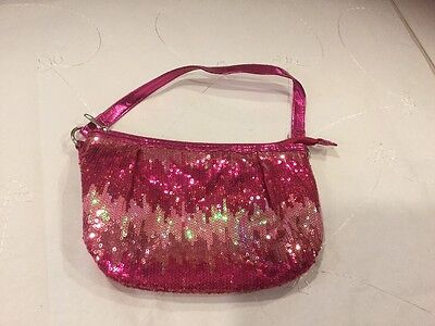 Justice Pink Ombré Sequence Purse