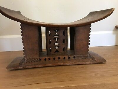 Old African Ashanti Stool From Ghana