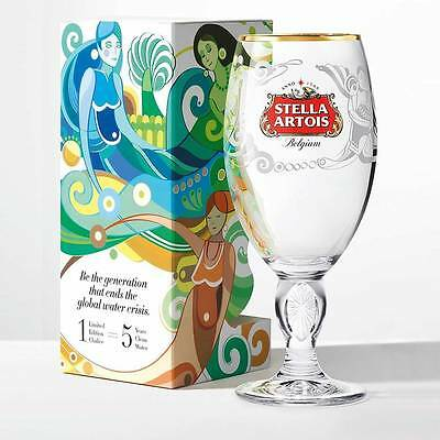 Limited Edition! Stella Artois Buy a Lady a Drink Brazil Chalice 33, Beer Glass