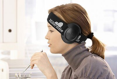 New! Hibermate Headband With Sound-Reducing Ear Muffs for Studying, Musicians wi