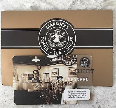 Starbucks Card 2010 Pike Place Store with matching Sleeve