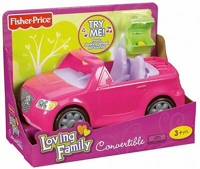 Fisher Price Loving Family Convertible W/ Music X3059 2012 *new*