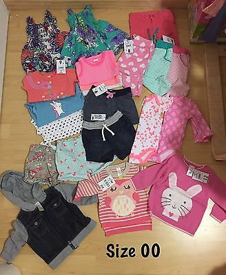 Baby Girl Clothes Size 00