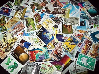 Australian stamps 110 different 70c Stamps Recent- Sets Used/Bulk