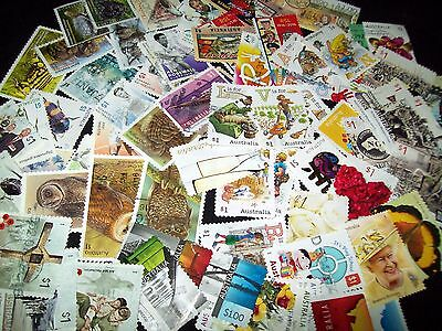 Australian Stamps 70 different $1.00 Lots of Sets Recent Used/Bulk
