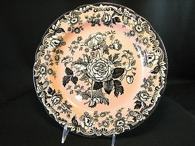Spode Archive Collection British Flowers ROSA -  Dinner Plate 10.5""