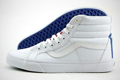 04173e19a9 VANS SK8- HI Reissue (1966) True White   Blue   Red   Yellow MSRP ...