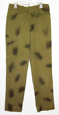 Vintage Boy Scouts of America Official Uniform Dyed Pants Waist 28 Inseam 27