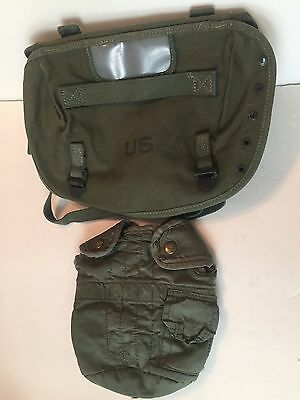 U.S. Military Combat Field Pack M-1956 and Canteen Cover with Alice Clips