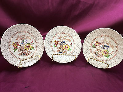 Royal Doulton - Grantham - China - 3 Saucers  in set - Replacement items