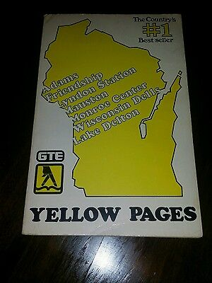 Vintage  yellow  pages