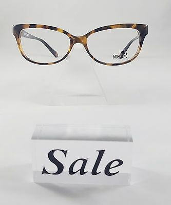533e908e655c New Love Moschino Tortoise Grey Eyeglasses Rx Glasses ML081V02 53-15-140  cateye