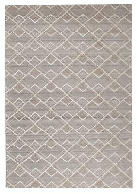 NEW Winter Silver Stream Modern Rug