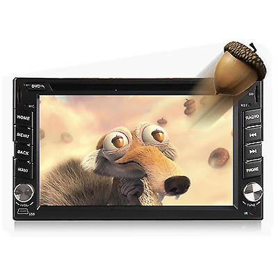 """6.2"""" Android 4.4 In Dash HD 2Din Car Stereo DVD Player GPS WiFi BT TV 3G Radio"""