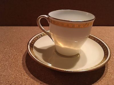 Minton for Tiffany & Co Demitasse Tea Cup and Saucer
