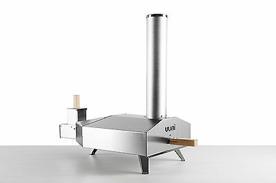 Uuni, Uuni3 Portable Wood Fired Pellet Pizza Oven + Cooking Stone & Peel, Uuni-3
