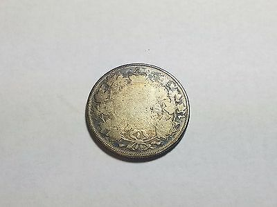 1870s - 1900 Canada 50 Fifty Cents No Date