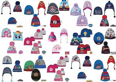 Boys Girls Kids Character Hats age 3-9 years 52-54cm Xmas gift