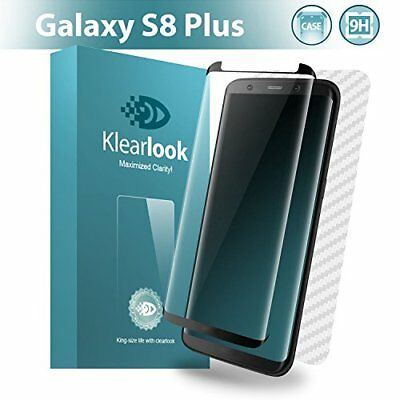 Klearlook [Case Friendly Tempered Glass] Galaxy S8 Plus Screen Protector [Eas...