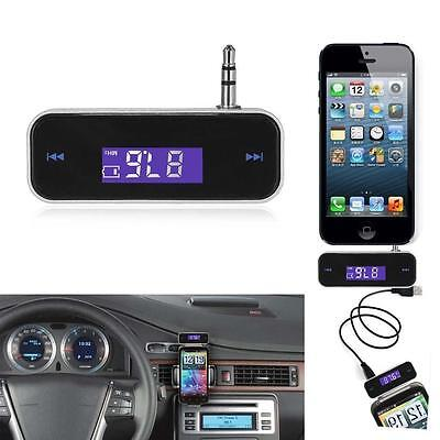 Wireless Music to Car Radio FM Transmitter For 3.5mm MP3 iPod iPhone Tablets ST3