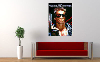"""THE TERMINATOR ARNOLD SCHWARZENNEGER PRINT WALL POSTER PICTURE 32.7"""" x 23.4"""""""