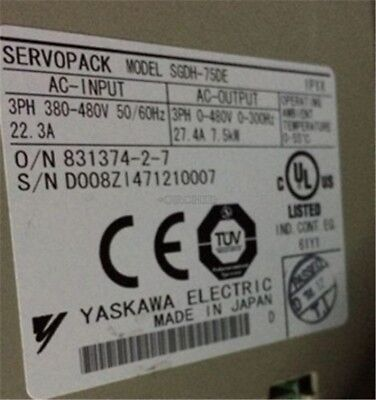 Used 1Pc Yaskawa SGDH-75DE Tested ms