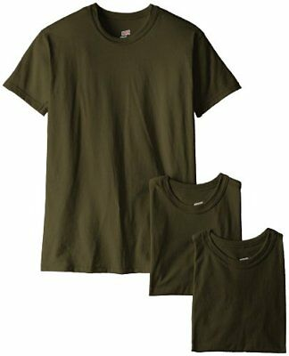 Soffe Men's Blend 3 Pack Military T-Shirts Green Large