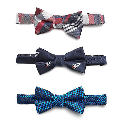 A little gentleman: 3-Pack Baby / Kids Pre-tied Bow Tie With Adjustable Strap