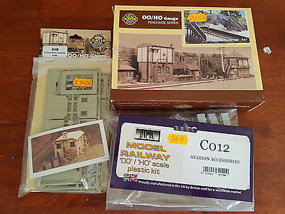 Ratio Dapol Building Kits X 3 As Shown  As New Conditon Boxed Oo Gauge (Db)