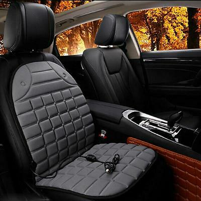 Car Seat Electric Chair Cushion Massage Back Body Heated Winter Heat Cover Pad