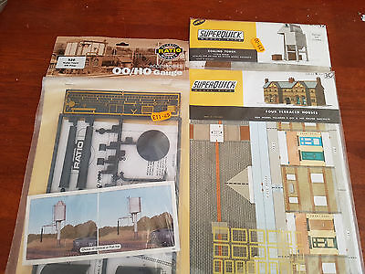 Superquick Ratio Building Kits X 3 Excellent Condition As New Boxed Oo Gauge(Db)