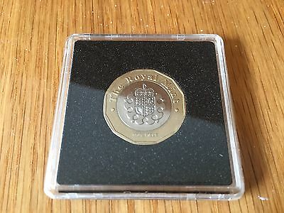 2016 Trial 12 Sided New £1 One Pound Coin Not 2015! Very Very Rare