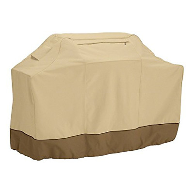 BBQ Cover Gas Grill Cover Waterproof for Barbeque Covers Polyester Large Beige