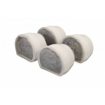 Drinkwell Ceramic Avalon/Pagoda Replacement Charcoal Filter - 4 Pack