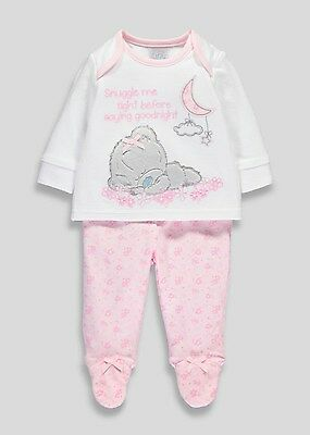 BNWT Me To You Girl Tatty Teddy Pyjamas Pjs Set Outfit Sleepsuit Tiny Baby