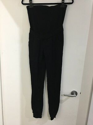 Maternity Sweatpants Jersey Pants Black Size 10