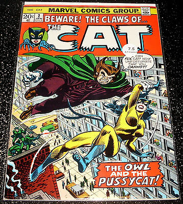Beware The Claws of the Cat 2 (7.5) Marvel Comics