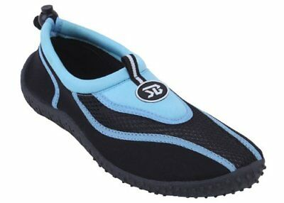Brand New Women's Athletic Water Shoes Aqua Socks Available (Blue & Black...