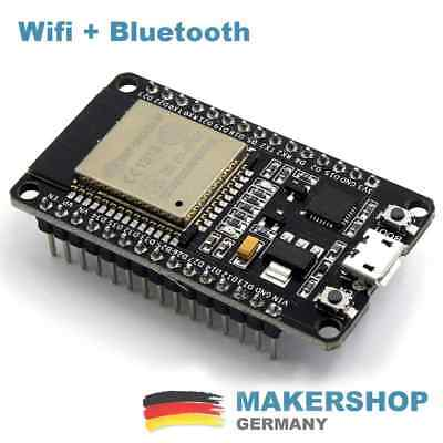 Espressif ESP32 WLAN Dev Kit Board Development Bluetooth Wifi v1 WROOM32 NodeMCU