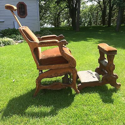 George W Archer Antique Barber Chair
