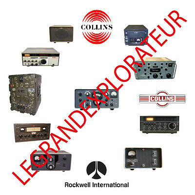Ultimate Rockwell Collins Radio Repair Service & Operation Manuals Collection