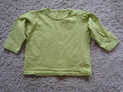 Baby Girls Gree Long Sleeve Top / T-Shirt - M&S - 6-9 months