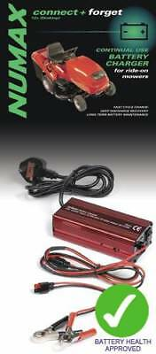 Numax Lawnmower Batterie Charger 12V 4A