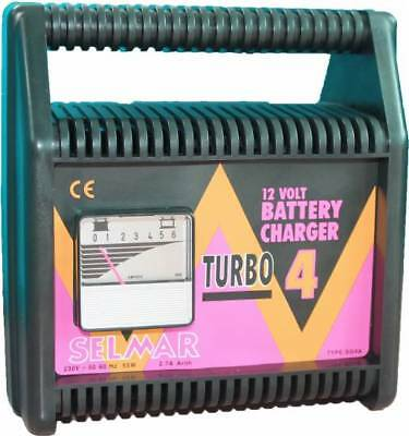 Selmar TURBO Batterie Charger 12V 2.7A