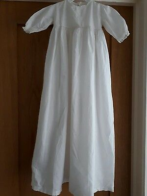 Vintage Baby Nightie/gown With  Butterfly Detail