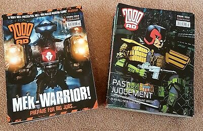 2000ad collection x 45 progs