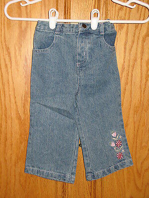 B.T. BT Kids Denim Size 18 Months Jeans Stretch Waist Used But Great Condition